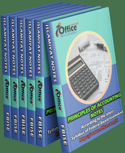 Principles of Accounting Notes