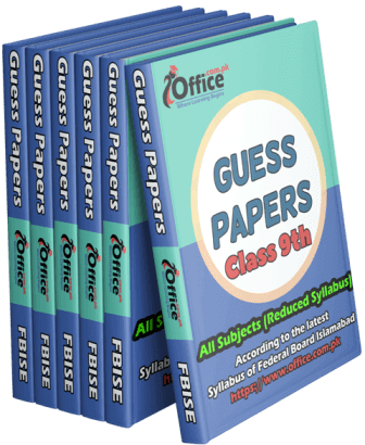 Guess Papers Class 9th